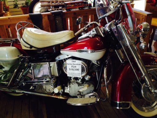 1969 Harley Davidson FLH Electra Glide